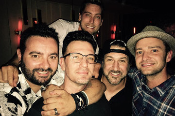 This *NSYNC Birthday Reunion Photo Proves Boy Bands Get Better with Age