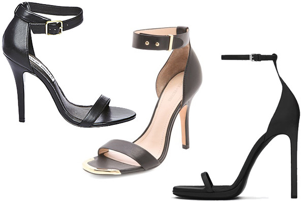 Building a Fabulous Wardrobe 101: Black Ankle-Strap Sandals