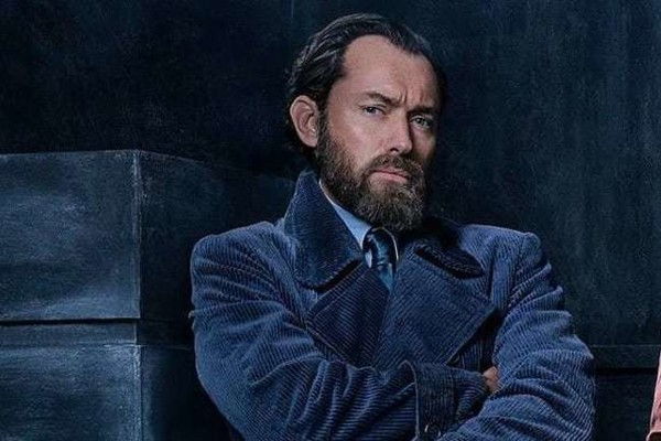 Jude Law as Young Dumbledore Is Everything I Never Knew I Needed