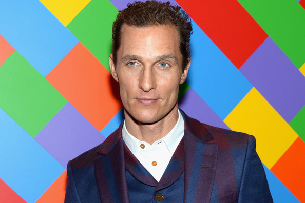 Matthew McConaughey Unleashes His Inner Dandy, Wears a Plaid Suit