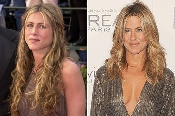 Then and Now - Jennifer Aniston