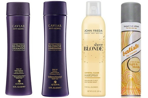 Thinking of Going Blonde Like Kim Kardashian? Here's Your New Hair Care Kit