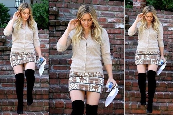 Instant Outfit Idea (Courtesy of Hilary Duff)