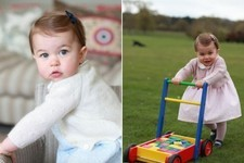 Princess Charlotte Looks Like an Absolute Angel on the Eve of Her First Birthday