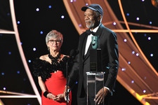 Rita Moreno and Morgan Freeman's Friendship Charmed the Heck Out of the SAG Awards