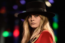 Cara Delevingne Rocks the Runway