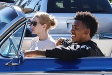 Nick Young & Iggy Azelea Get Lunch In Style