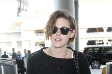 Kristen Stewart Makes Her Way Through LAX