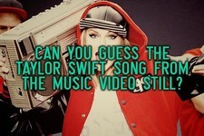 Can You Guess the Taylor Swift Song from the Music Video Still?