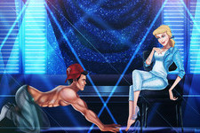 An Artist Reimagined Disney Princes as 'Magic Mike' Strippers
