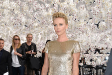 Charlize Theron's Ethereal Elegance