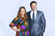 Nick Offerman And Amy Poehler's New Show Came Out Of The Woodworks