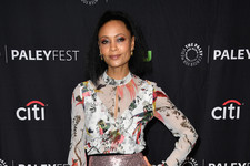 Look of the Day: Thandie Newton's Glimmering Ensemble