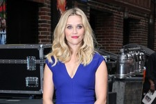 Reese Witherspoon Has the Blues at 'Letterman'