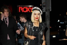 Rita Ora Hits the Town