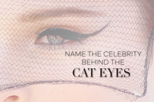 Name the Celebrity Behind the Cat Eyes