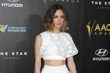 Rose Byrne Rocks a Fancy Crop Top