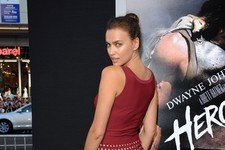 Irina Shayk Sizzles at the 'Hercules' Premiere