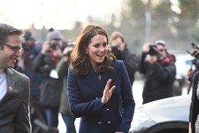 Kate Middleton's Chic Maternity Style