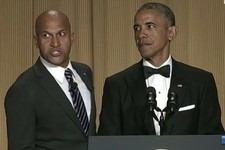 'Key & Peele's Luther Steals the White House Correspondents' Dinner