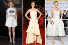'Hunger Games' Star Jennifer Lawrence's Charming Style
