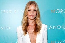 Rosie Huntington-Whiteley Takes the Plunge