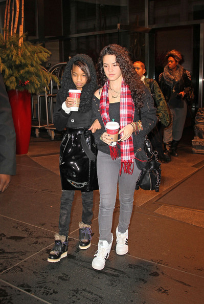 Willow Smith in Willow Smith Out in NYC 2 - Zimbio