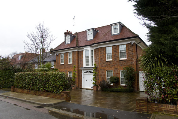 The £11million mansion owned by Colonel Gaddafi's family in North London. The detached neo-Georgian property was bought by Saif al-Islam Gaddafi, 38 - Colonel Gaddafi's favourite son - in 2009. It had previously been available to rent for £10,000 a week and then for sale at £10.9million. It boasts a swimming pool, sauna room, jacuzzi, suede-lined cinema room and underfloor heating.