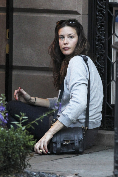 Liv Tyler and Son Out in NYC