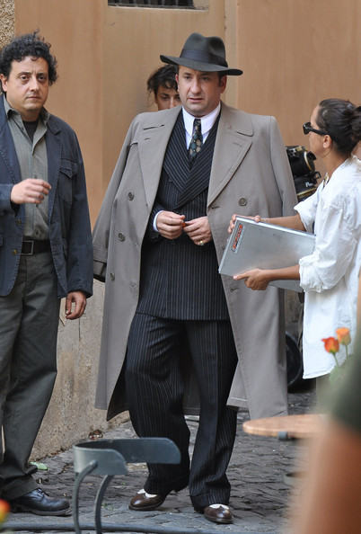 "Actor Antonio Albanese on set of the new Woody Allen movie ""Bop Decameron"" in Italy.."
