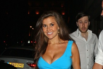 Adam Horsley Imogen Thomas and Adam Horsley Out in London