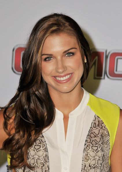 Alex Morgan Pictures Arrivals At Epsn The Magazine S