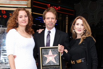 Alexandria Balahoutis Jerry Bruckheimer Honored on the Walk of Fame