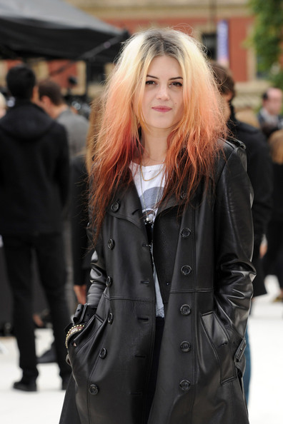 Alison Mosshart - Harry Styles at the LFW Burberry Prosum Spring/Summer 2013 runway show at London Fashion Week