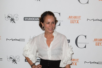 Andrea Dellal Stars at the Premiere of 'Mademoiselle C' in London