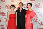 """Vanessa Glodjo, Goran Kostic and Zana Marjanovic attends the french premiere of the movie """"In The Land Of Blood And Honey"""" held at the Cinema MK2 Bibliotheque, Paris."""