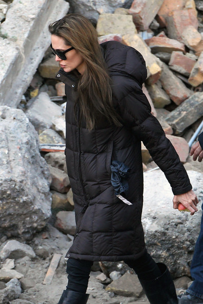 Angelina Jolie continues work on her directorial debut, an untitled Bosnian war love story filming in Budapest. Gavrilo Grahovac, Bosnia's culture minister, recently revoked a film permit Jolie had obtained to shoot in Sarajevo.