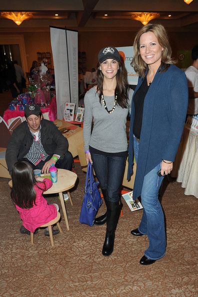 Samantha Harris attends Jayeoni Moore's pre-Oscar Studio gifting suite.