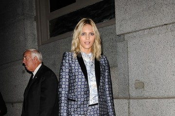 Anja Rubik Ashanti attending the Angel Ball 2012 hosted by Gabrielle's Angel Foundation at Cipriani Wall Street in New York City