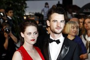 "Kristen Stewart, Tom Sturridge attends the premiere of ""Cosmopolis"" at the Cannes Film Festival."