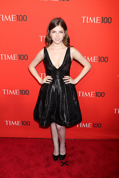 Anna Kendrick Anna Kendrick poses for photographs while attending the Time 100 Gala, held at the Time Warner Center in New York City.