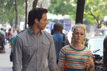 AnnaSophia Robb Chris Wood Scenes from the 'Carrie Diaries' Set