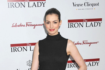 """Anne Hathaway Stars at """"The Iron Lady"""" Premiere in NYC"""