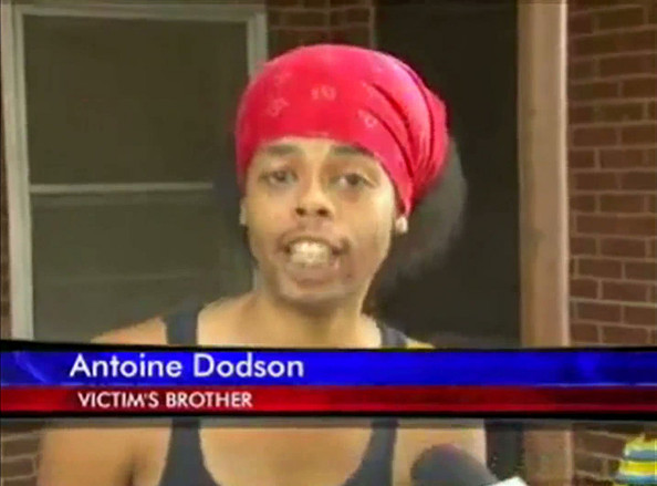 "Antoine Dodson, full name Kevin Antoine Dodson, the internet sensation who rose to fame when his ""Bed Intruder"" YouTube video went viral, aka ""Hide ya kids, hide ya wife"", was reportedly arrested on Saturday for marijuana possession in Huntsville, Alabama. He was booked on a misdemeanor charge and released shortly after. Dodson was also given four other misdemeanor charges, two for failure to appear in court on traffic charges, one for failing to have insurance and one for speeding. 24 year old Dodson later tweeted:  ""Let me be the first to tell it!!É So just got out of jail off a weak charge!!!,.. Got pulled over in my Benz and they got me ... I never been in jail except that time in grade school."