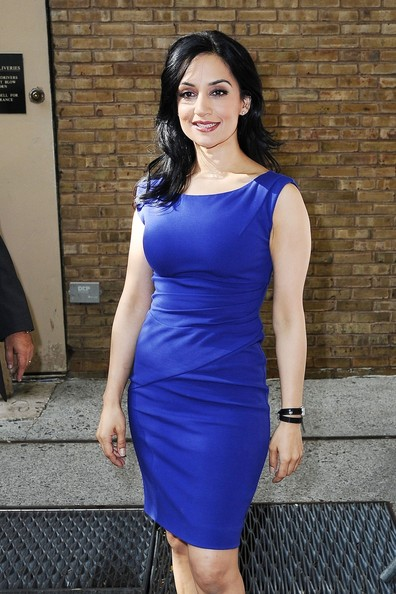 "Actress Archie Panjabi stops in at ""Live With Kelly"" in New ..."