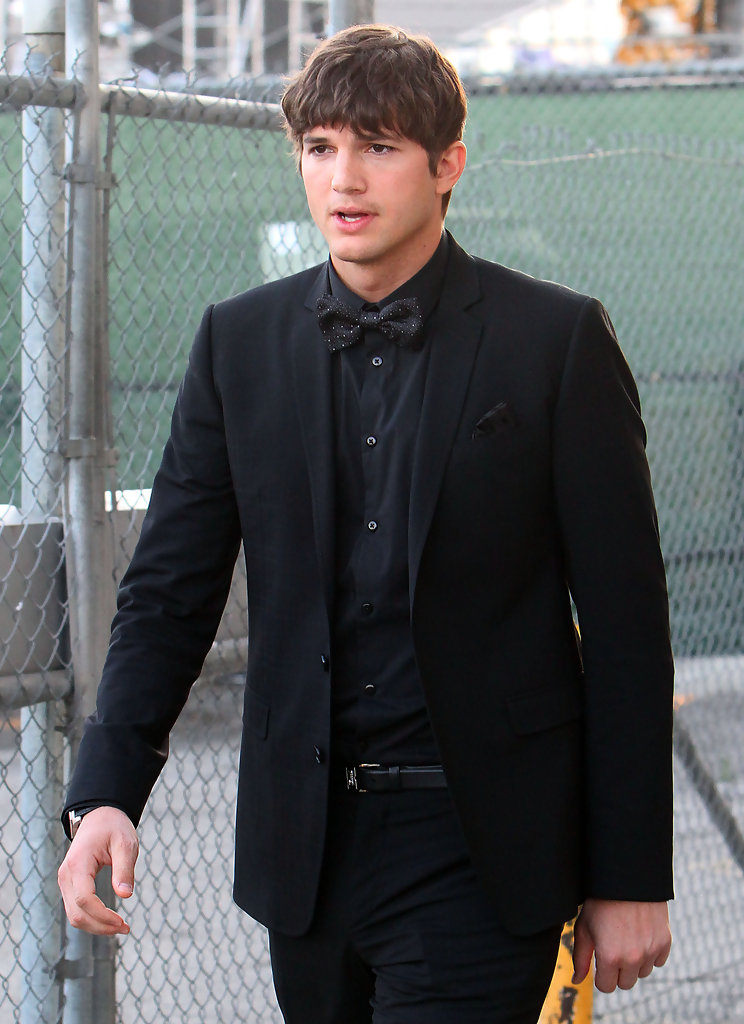 "Ashton Kutcher in Ashton Kutcher on ""Jimmy Kimmel Live ..."