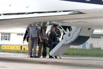 Rocco Ritchie Madonna and Her Kids Leave Paris