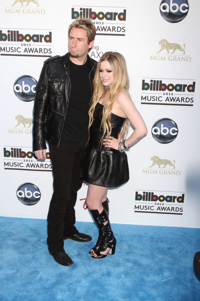 Avril Lavigne - Arrivals at the Billboard Music Awards