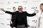 Roberto Cavalli attends the third annual amfAR Milano event, held in conjunction with Milan Fashion Week at La Permanente in Milan. AmfAR, is The Foundation for AIDS Research and is one of the worldÕs leading nonprofit organisations dedicated to the support of AIDS research.