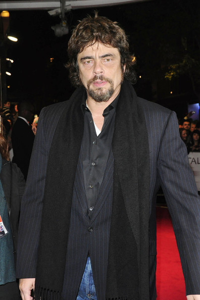 "Benicio del Toro Benicio Del Toro attends a screening of the new film ""Miral"" at the Vue Cinema, Leicester Square as a part of the 2010 London Film Festival."
